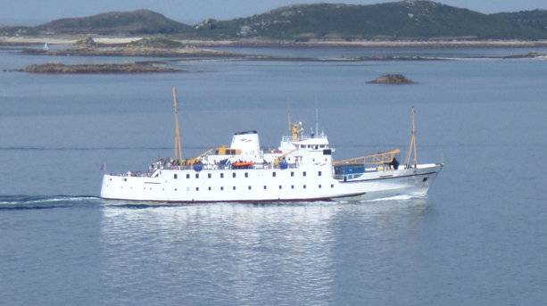 Scillonian Approaching Scilly