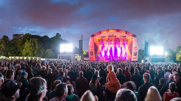 Main Stage of Liverpool International Music Festival