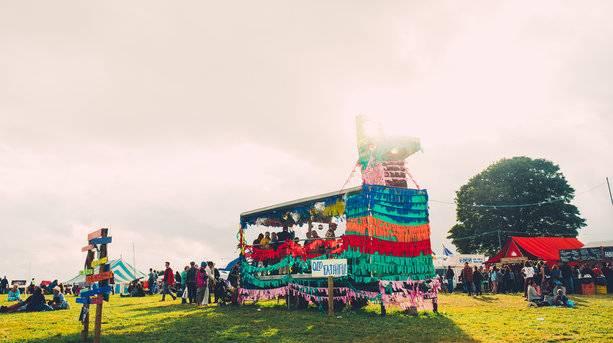Pinata Disco at Farmfest