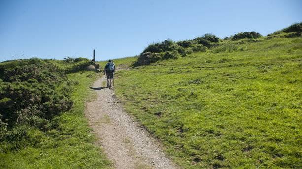 South West Coast Path in Devon