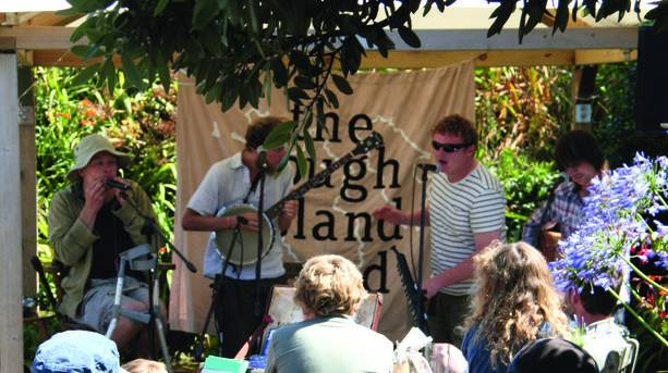 Scilly Bands at the Arts and Literature Festival