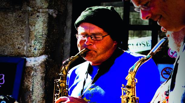 Scilly Sax Player
