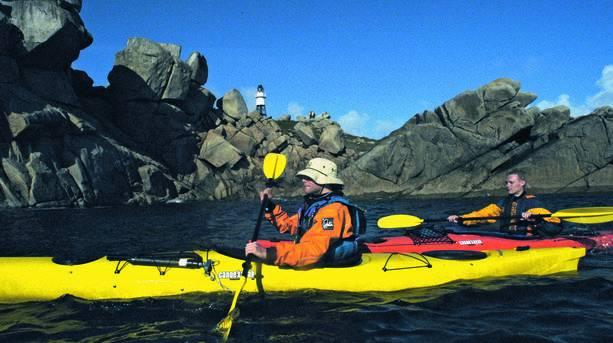 Kayaking on St Mary's
