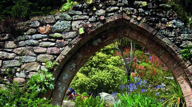 Tresco Abbey Gardens Archway
