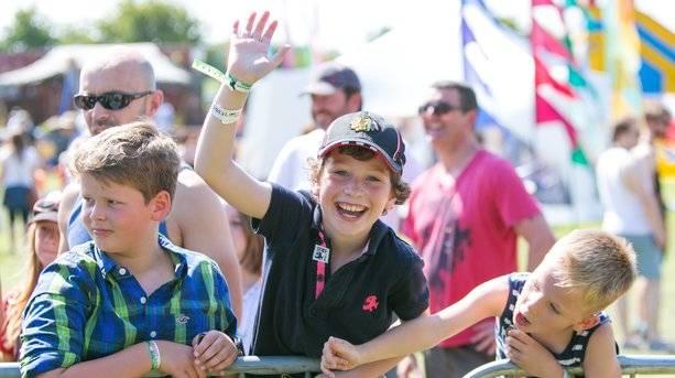Kids at Lakefest