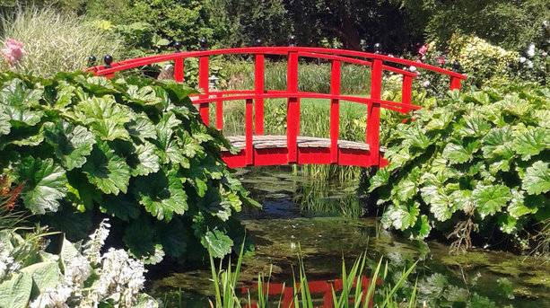 Japanese Bridge at Wilton House