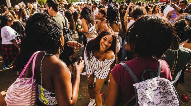 Wireless Festival Revellers