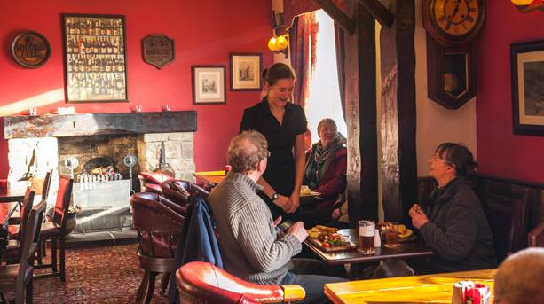Visit the New Inn at Appletreewick