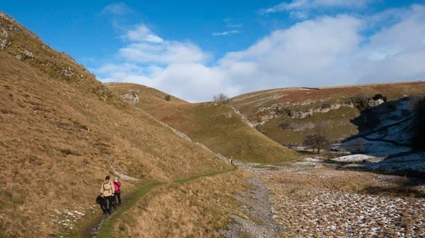 Take a rural winter walk in Appletreewick