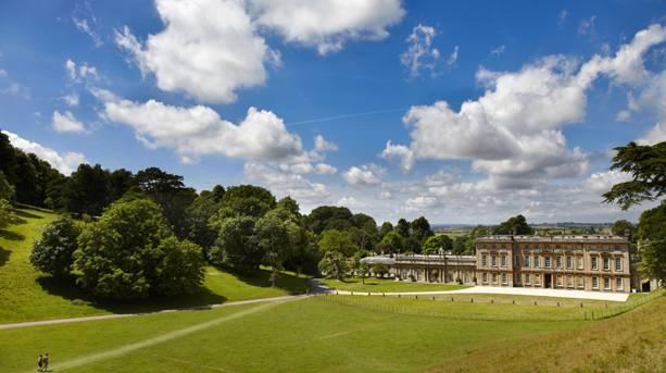 Dyrham Park in summer