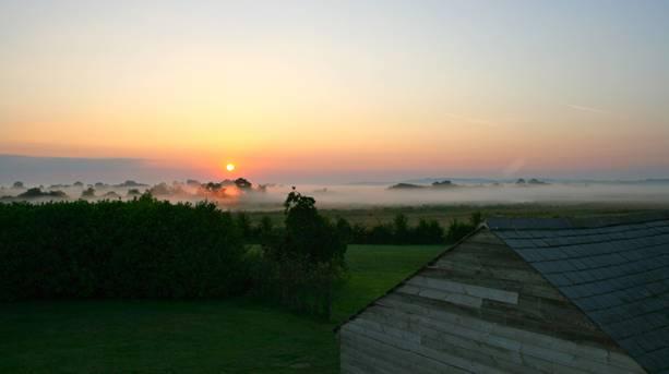 Sunrise over Otmoor