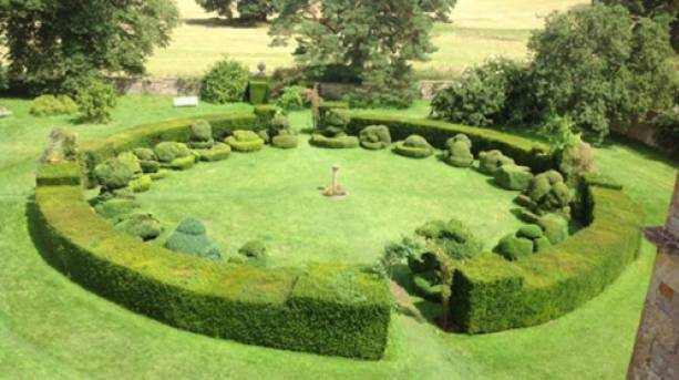 A garden in the Cotswolds
