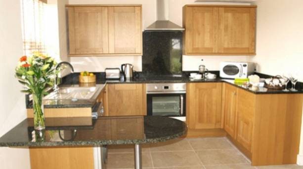 Inside Brickhouse Cottages kitchen