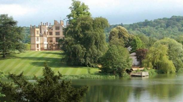 Sherborne Castle and lake
