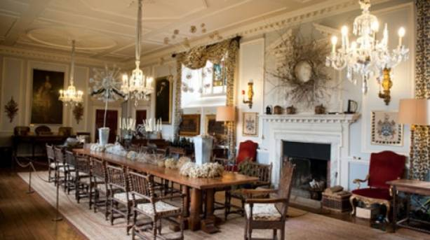 Dinning area at Doddington Hall