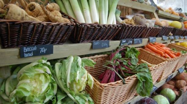 Doddington Hall farm shop