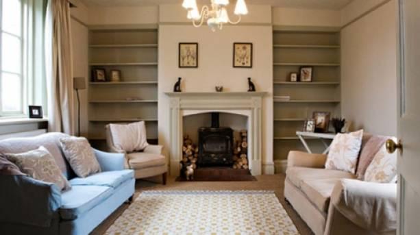 Sitting area at Doddington Hall