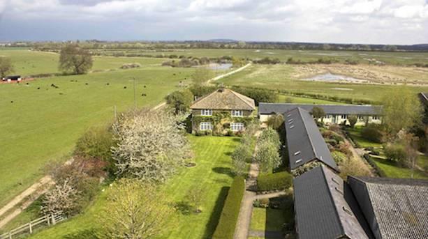 Aerial view of Otmoor
