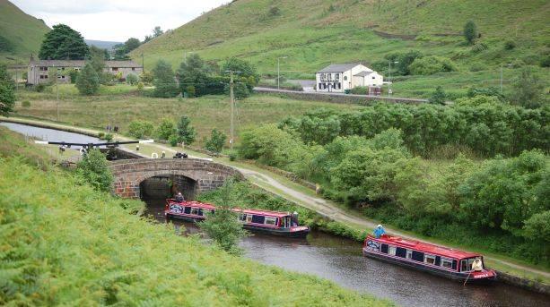 Navigating locks in Calderdale