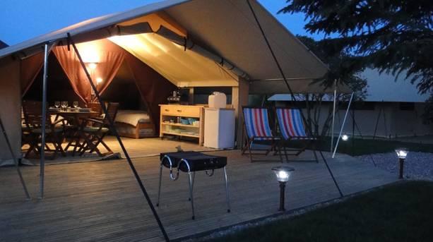 Rural retreats at Safari Tent Teversal Campsite