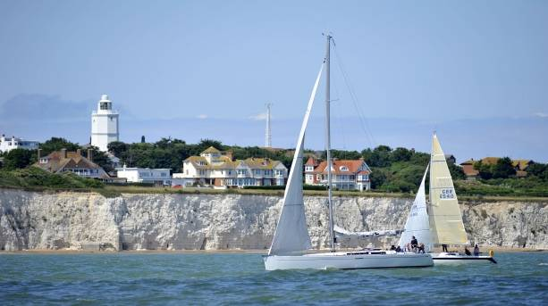 Passing North Foreland Lighthouse