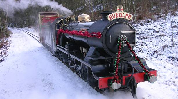 Santa Express at Ravenglass & Eskdale Railway
