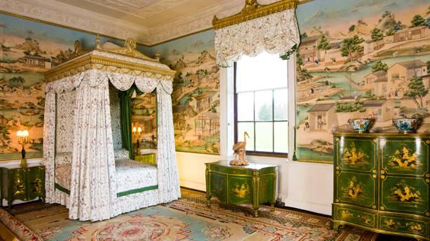 East Bedroom at Harewood House, Leeds