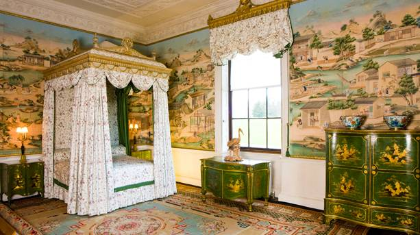 East Bedroom at Harewood House, Leeds