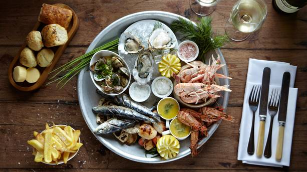 Seafood Platter at The Master Builder's