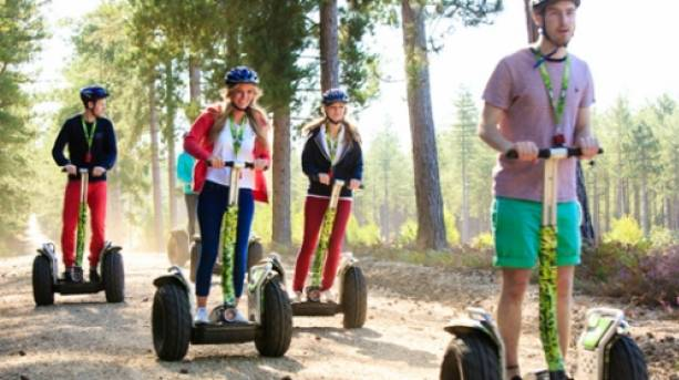 Segway in Sherwood Forest