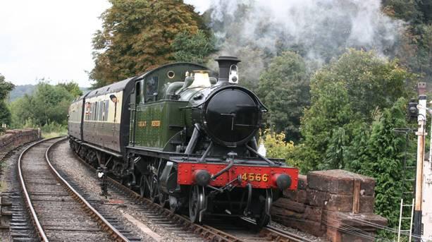 Severn Valley Railway in Shropshire