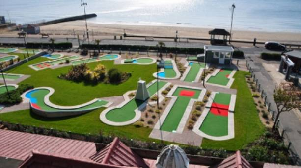 Shanklin Seafront Crazy Golf, Isle of Wight