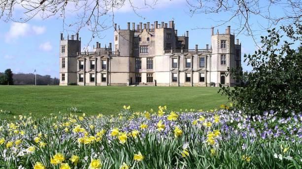 Spring colour at Sherborne Castle