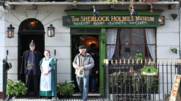 The Sherlock Holmes Museum on Baker Street, London