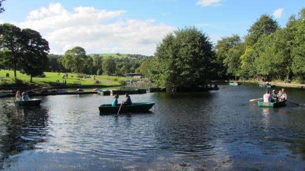 Shibden Estate Boating Lake