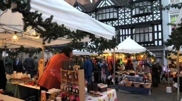 Shrewsbury Christmas Festival