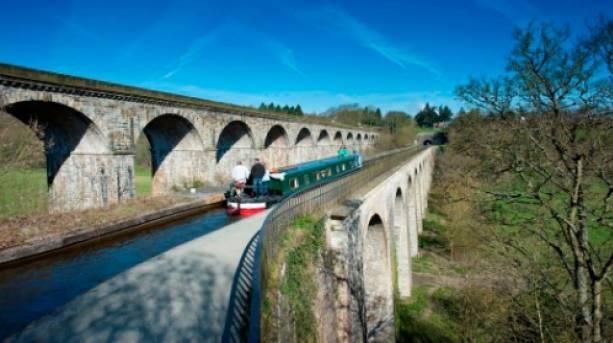 Chirk Aqueduct, Shropshire