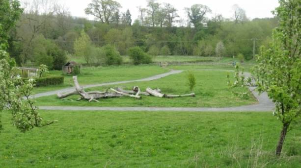Cycle trail at Shropshire Hills Discovery Centre