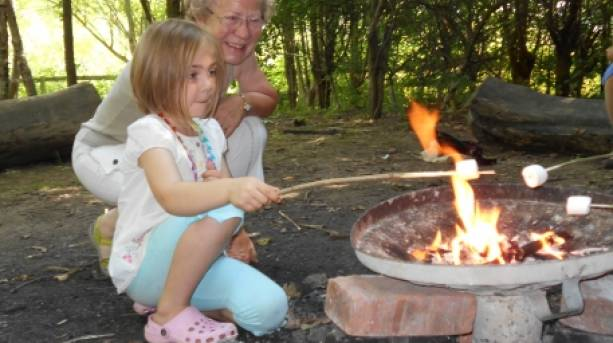 Family activities at Shropshire Hills Discovery Centre