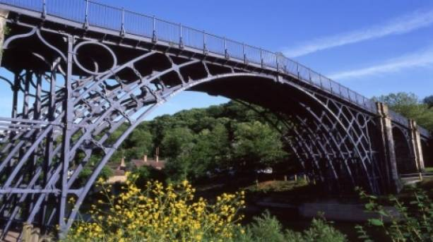 The world's first cast iron bridge