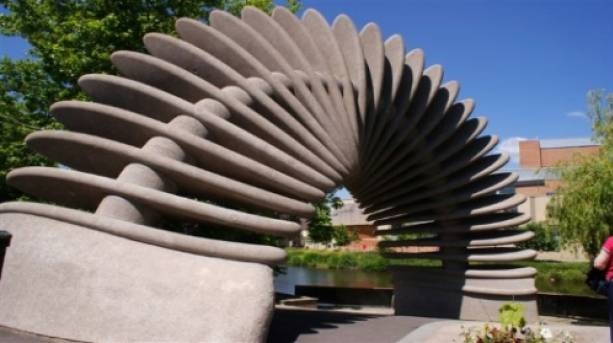 Discover the Ellesmere Sculpture Trail | VisitEngland