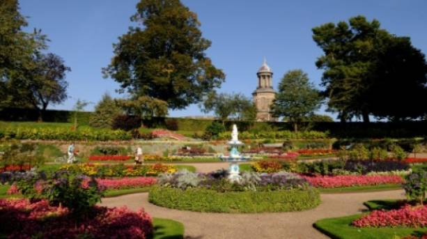 Designed by Percy Thrower the Dingle lies at the heart of Quarry Park, in Shrewsbury