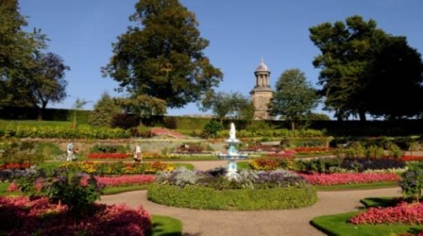 The Dingle, Quarry Park, at the heart of Shrewsbury Flower Show