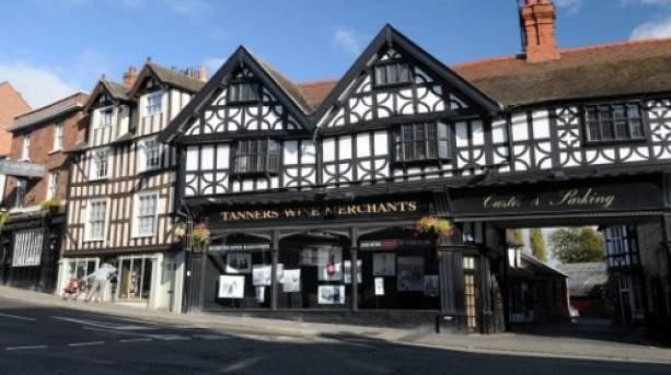 Tanners Wines in Shrewsbury, Shropshire