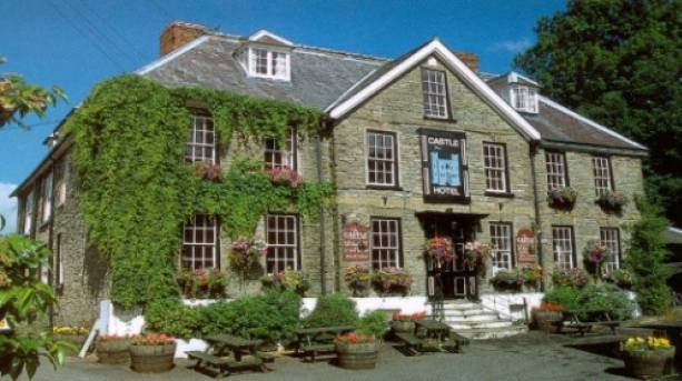The Castle Hotel, situated in the heart of Bishop's Castle.