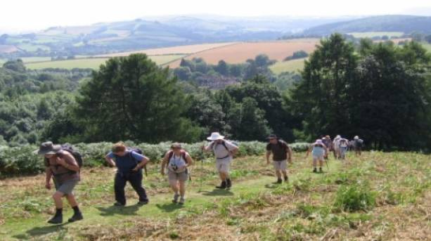 Following in the footsteps of Offa in the Shropshire Hills