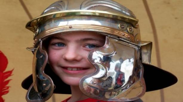 Become a Roman for the day at Wroxeter Roman City