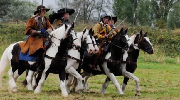 English Civil War re-enactment
