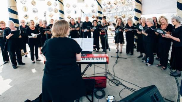 Singing at Ramsgate Festival