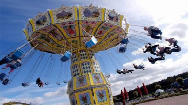 Sky Swinger at Paultons Park, New Forest, Hampshire